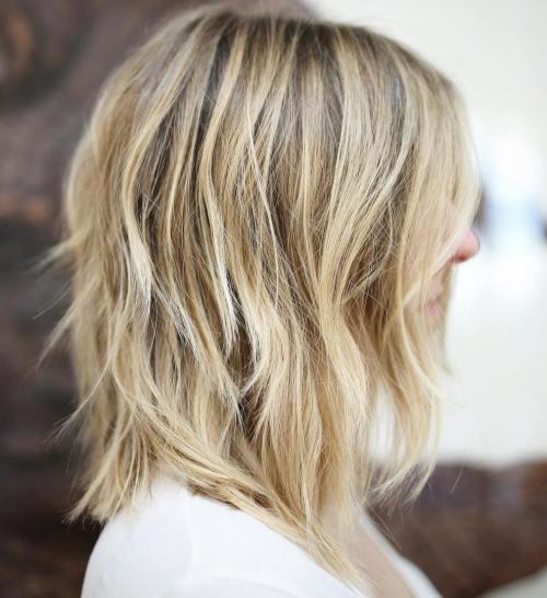 60 coiffures moyennes amusantes et flatteuses pour les femmes 5e414c048b2bf - 60 coiffures coupe cheveux mi long amusantes et flatteuses pour les femmes