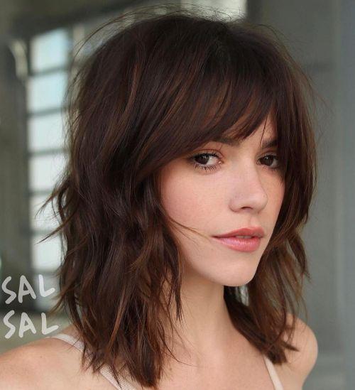 60 coiffures moyennes amusantes et flatteuses pour les femmes 5e414c04dcde0 - 60 coiffures coupe cheveux mi long amusantes et flatteuses pour les femmes