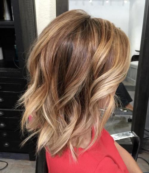 60 coiffures moyennes amusantes et flatteuses pour les femmes 5e414c05dae2e - 60 coiffures coupe cheveux mi long amusantes et flatteuses pour les femmes