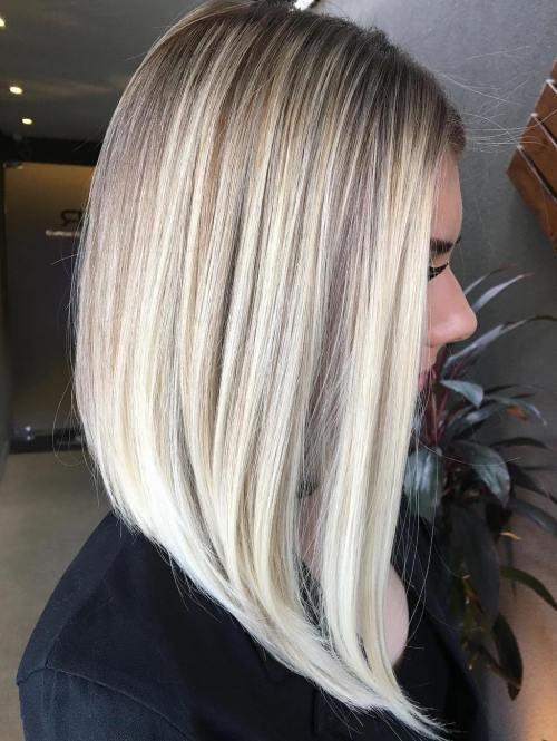 60 coiffures moyennes amusantes et flatteuses pour les femmes 5e414c060245f - 60 coiffures coupe cheveux mi long amusantes et flatteuses pour les femmes