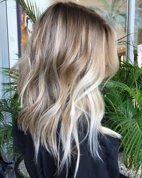 60 coiffures moyennes amusantes et flatteuses pour les femmes 5e414c063bd29 - 60 coiffures coupe cheveux mi long amusantes et flatteuses pour les femmes