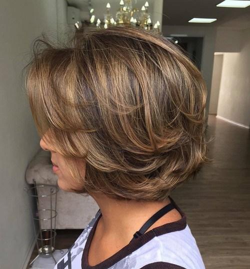 60 coupes de cheveux courtes et coiffures chics pour les cheveux épais