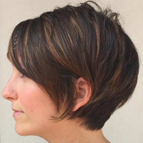 60 coupes de cheveux courtes et coiffures chics pour les cheveux epais 5e4142ba10191 - 60 coupes de cheveux courtes et coiffures chics pour les cheveux épais
