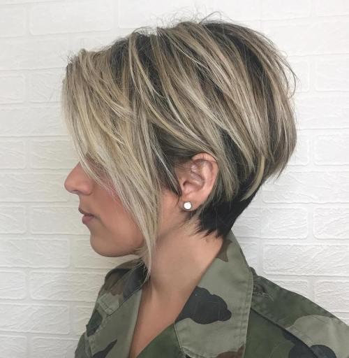 60 coupes de cheveux courtes et coiffures chics pour les cheveux epais 5e4142bb36873 - 60 coupes de cheveux courtes et coiffures chics pour les cheveux épais
