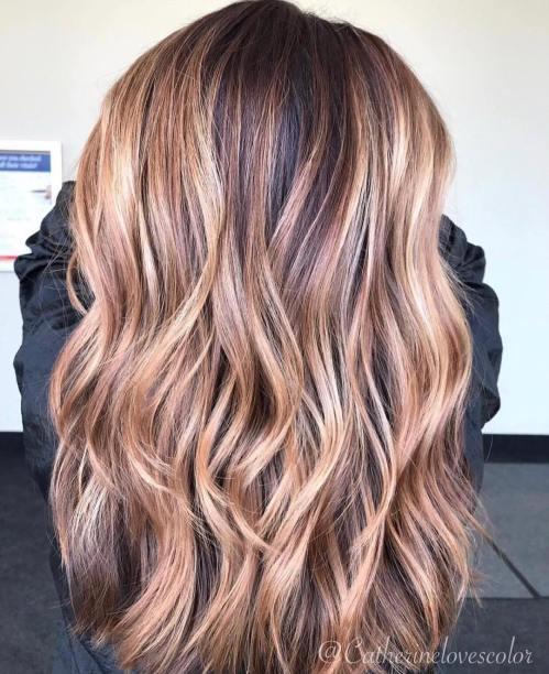 60 looks avec des reflets caramel sur les cheveux bruns et brun fonce 5e4281422d2c4 - 60 looks avec des reflets caramel sur les cheveux bruns et brun foncé
