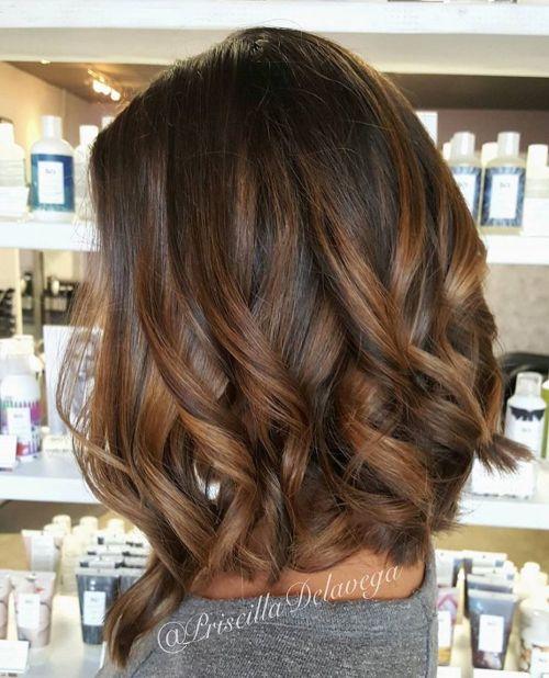 60 looks avec des reflets caramel sur les cheveux bruns et brun fonce 5e428142f0bfd - 60 looks avec des reflets caramel sur les cheveux bruns et brun foncé