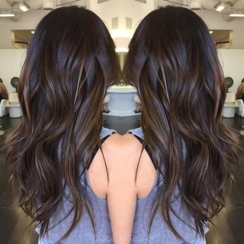 60 looks avec des reflets caramel sur les cheveux bruns et brun fonce 5e42814494d1f - 60 looks avec des reflets caramel sur les cheveux bruns et brun foncé