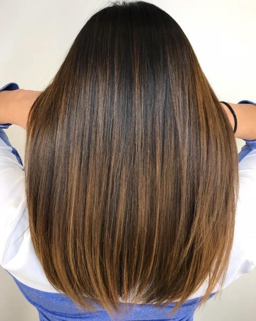 60 looks avec des reflets caramel sur les cheveux bruns et brun fonce 5e42814512dc3 - 60 looks avec des reflets caramel sur les cheveux bruns et brun foncé