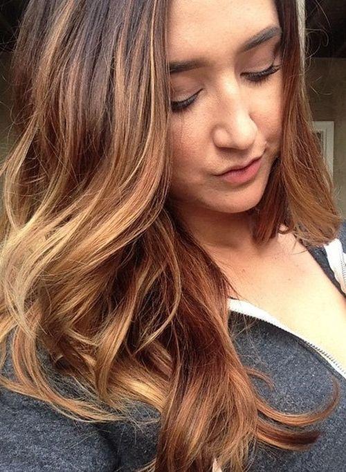 60 looks avec des reflets caramel sur les cheveux bruns et brun fonce 5e428146256e5 - 60 looks avec des reflets caramel sur les cheveux bruns et brun foncé