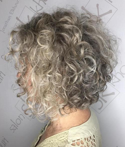 60 magnifiques styles de cheveux gris 5e428125ab013 - 60 magnifiques styles de cheveux gris - Coloration et teinture