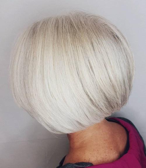 60 magnifiques styles de cheveux gris 5e42812a28f4d - 60 magnifiques styles de cheveux gris - Coloration et teinture