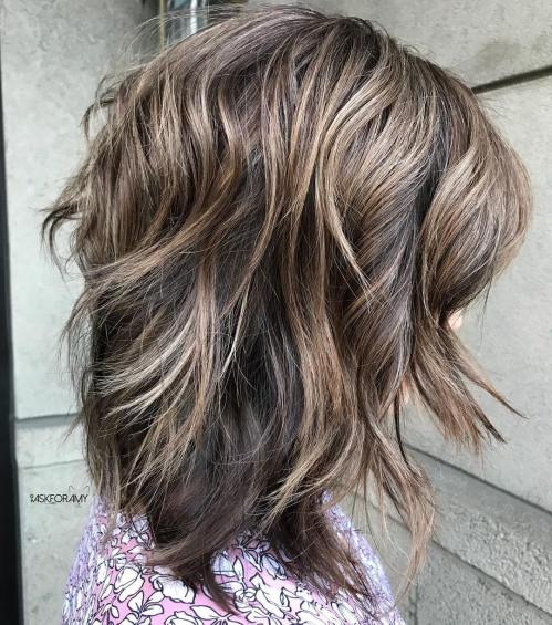 Shaggy Layered Cut For Thick Hair
