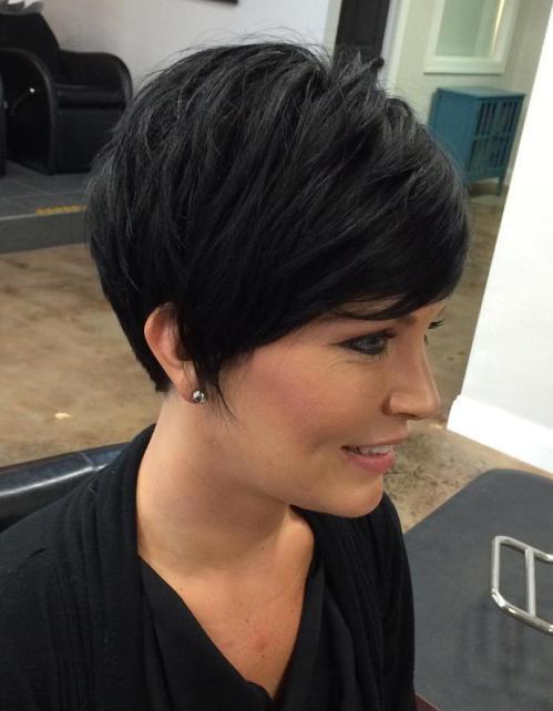 70 coiffures en couches courtes mignonnes et faciles a coiffer 5e414348cda9a - 70 coiffures en dégradé courtes mignonnes et faciles à coiffer