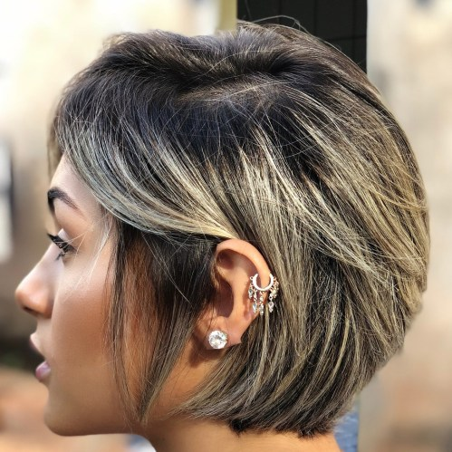 70 coiffures en couches courtes mignonnes et faciles a coiffer 5e414348eab6f - 70 coiffures en dégradé courtes mignonnes et faciles à coiffer
