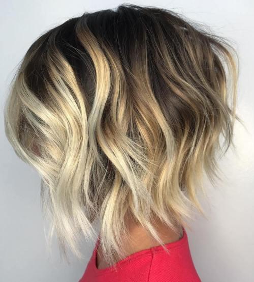 70 coiffures en couches courtes mignonnes et faciles a coiffer 5e4143499fac1 - 70 coiffures en dégradé courtes mignonnes et faciles à coiffer