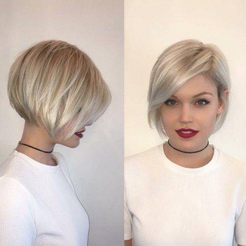 70 coiffures en couches courtes mignonnes et faciles a coiffer 5e414349f33b5 - 70 coiffures en dégradé courtes mignonnes et faciles à coiffer