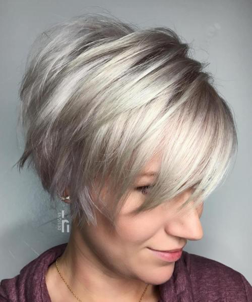 70 coiffures en couches courtes mignonnes et faciles a coiffer 5e41434a1c514 - 70 coiffures en dégradé courtes mignonnes et faciles à coiffer