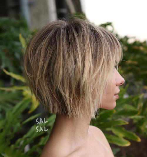 70 coiffures en couches courtes mignonnes et faciles a coiffer 5e41434a536a5 - 70 coiffures en dégradé courtes mignonnes et faciles à coiffer