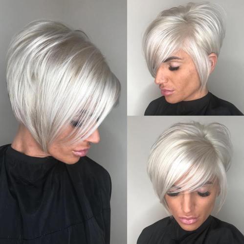70 coiffures en couches courtes mignonnes et faciles a coiffer 5e41434aa6c69 - 70 coiffures en dégradé courtes mignonnes et faciles à coiffer