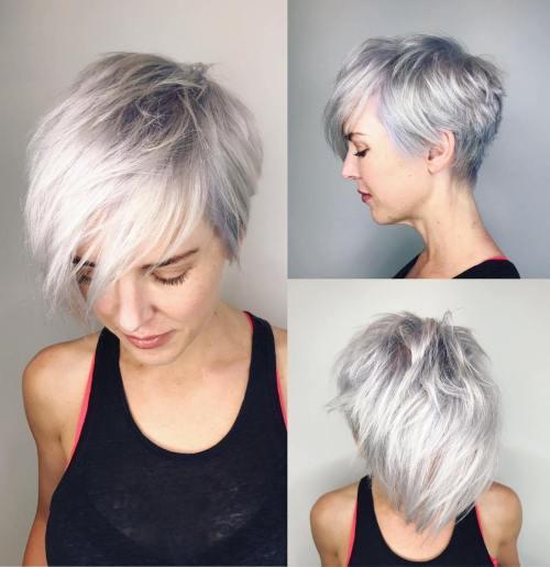 70 coiffures en couches courtes mignonnes et faciles a coiffer 5e41434ba6e65 - 70 coiffures en dégradé courtes mignonnes et faciles à coiffer