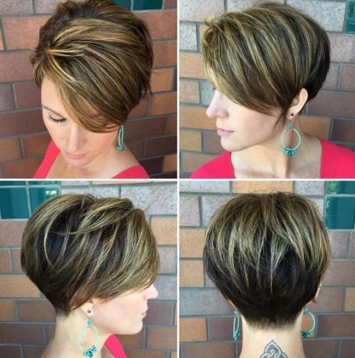 70 coiffures en couches courtes mignonnes et faciles a coiffer 5e41434be0abd - 70 coiffures en dégradé courtes mignonnes et faciles à coiffer