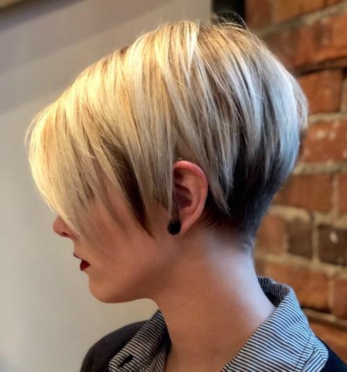 70 coiffures en couches courtes mignonnes et faciles a coiffer 5e41434dcb80c - 70 coiffures en dégradé courtes mignonnes et faciles à coiffer