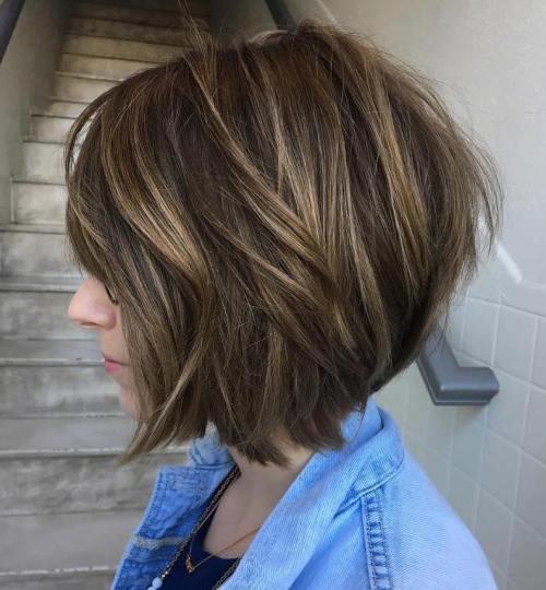70 coiffures en couches courtes mignonnes et faciles a coiffer 5e41434e1e615 - 70 coiffures en dégradé courtes mignonnes et faciles à coiffer