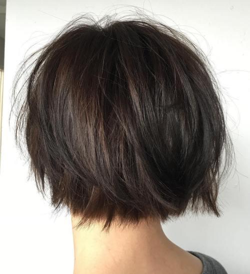 70 coiffures en couches courtes mignonnes et faciles a coiffer 5e41434e3fffa - 70 coiffures en dégradé courtes mignonnes et faciles à coiffer