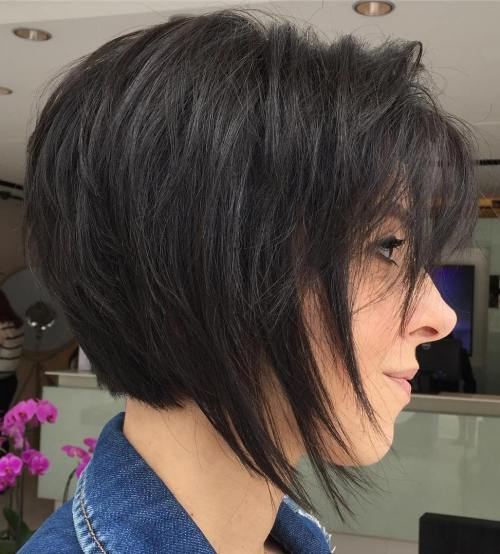 70 coiffures en couches courtes mignonnes et faciles a coiffer 5e41434e5fd80 - 70 coiffures en dégradé courtes mignonnes et faciles à coiffer