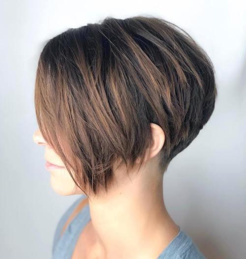 70 coiffures en couches courtes mignonnes et faciles a coiffer 5e41434e8177f - 70 coiffures en dégradé courtes mignonnes et faciles à coiffer