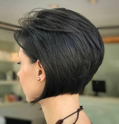 70 coiffures en couches courtes mignonnes et faciles a coiffer 5e41434e9c1b0 - 70 coiffures en dégradé courtes mignonnes et faciles à coiffer