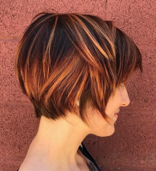 70 coiffures en couches courtes mignonnes et faciles a coiffer 5e41434f61776 - 70 coiffures en dégradé courtes mignonnes et faciles à coiffer