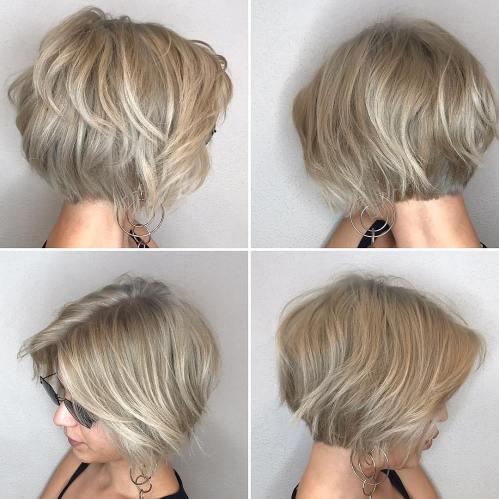 70 coiffures en couches courtes mignonnes et faciles a coiffer 5e41434f8513c - 70 coiffures en dégradé courtes mignonnes et faciles à coiffer