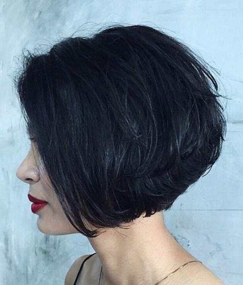 70 coiffures en couches courtes mignonnes et faciles a coiffer 5e41434f9fb69 - 70 coiffures en dégradé courtes mignonnes et faciles à coiffer