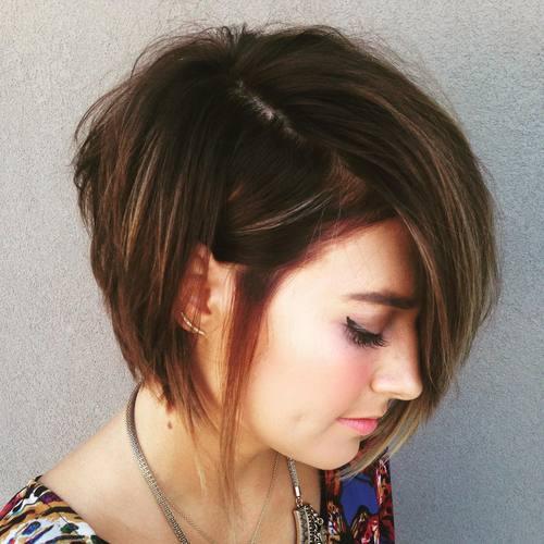 70 coiffures en couches courtes mignonnes et faciles a coiffer 5e41434fd9c80 - 70 coiffures en dégradé courtes mignonnes et faciles à coiffer