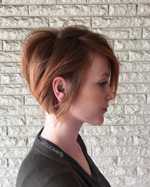 70 coiffures en couches courtes mignonnes et faciles a coiffer 5e414350974d3 - 70 coiffures en dégradé courtes mignonnes et faciles à coiffer