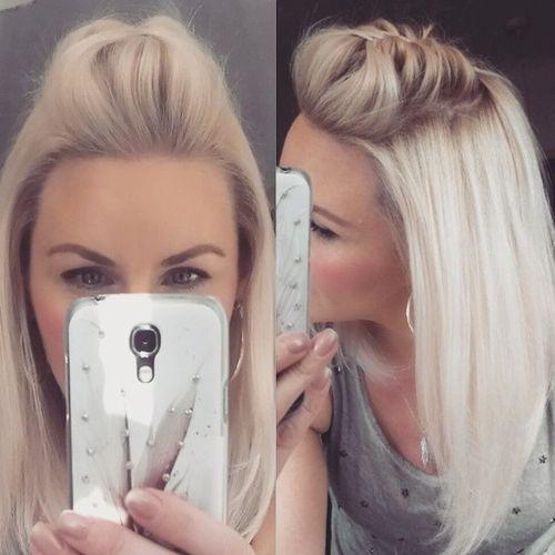 70 coiffures mi longues parfaites pour les cheveux fins