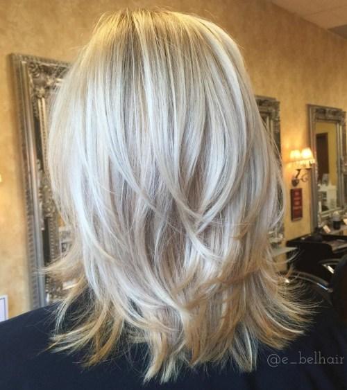 70 coiffures parfaites de longueur moyenne pour les cheveux fins 5e414b512ddb8 - 70 coiffures mi longues parfaites pour les cheveux fins