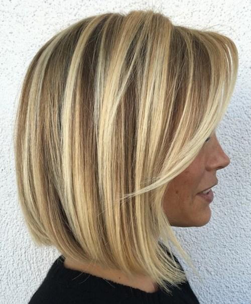 70 coiffures parfaites de longueur moyenne pour les cheveux fins 5e414b518903b - 70 coiffures mi longues parfaites pour les cheveux fins