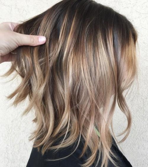 70 coiffures parfaites de longueur moyenne pour les cheveux fins 5e414b5208db2 - 70 coiffures mi longues parfaites pour les cheveux fins