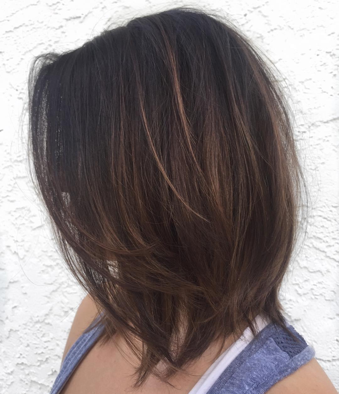 70 coiffures parfaites de longueur moyenne pour les cheveux fins 5e414b5241af8 - 70 coiffures mi longues parfaites pour les cheveux fins