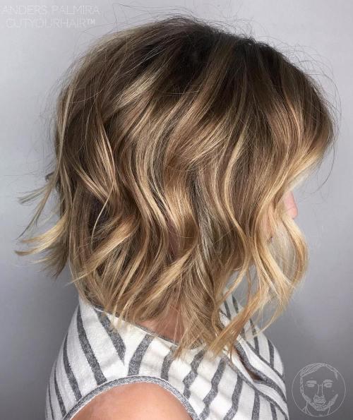 70 coiffures parfaites de longueur moyenne pour les cheveux fins 5e414b52db812 - 70 coiffures mi longues parfaites pour les cheveux fins