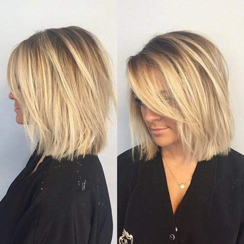 70 coiffures parfaites de longueur moyenne pour les cheveux fins 5e414b531e376 - 70 coiffures mi longues parfaites pour les cheveux fins