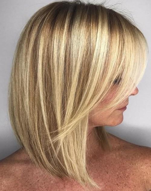 70 coiffures parfaites de longueur moyenne pour les cheveux fins 5e414b5339c8b - 70 coiffures mi longues parfaites pour les cheveux fins
