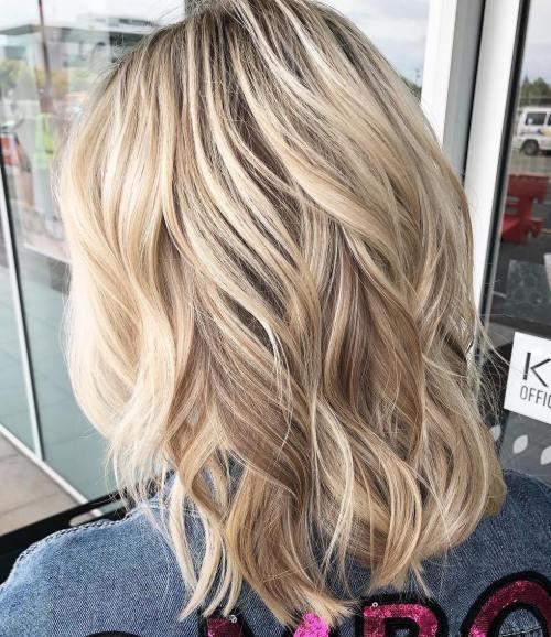 70 coiffures parfaites de longueur moyenne pour les cheveux fins 5e414b5357faa - 70 coiffures mi longues parfaites pour les cheveux fins