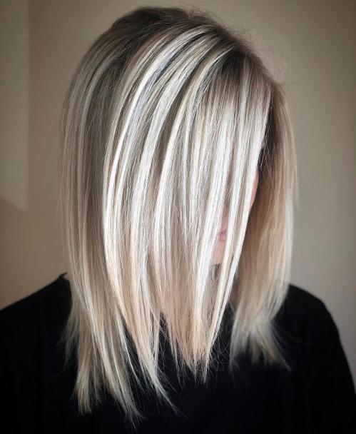 70 coiffures parfaites de longueur moyenne pour les cheveux fins 5e414b5395e86 - 70 coiffures mi longues parfaites pour les cheveux fins