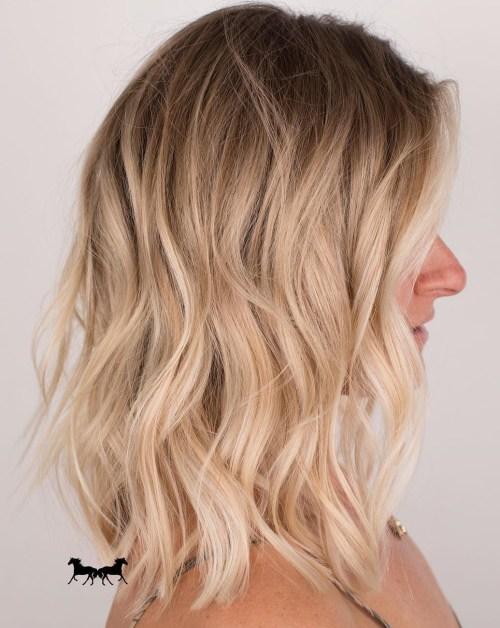 70 coiffures parfaites de longueur moyenne pour les cheveux fins 5e414b53eb830 - 70 coiffures mi longues parfaites pour les cheveux fins