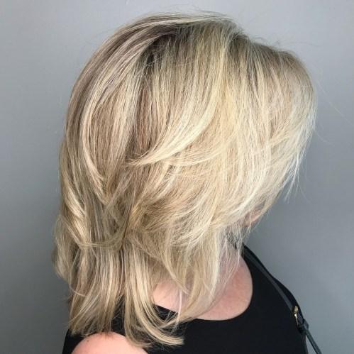 70 coiffures parfaites de longueur moyenne pour les cheveux fins 5e414b5413dd8 - 70 coiffures mi longues parfaites pour les cheveux fins