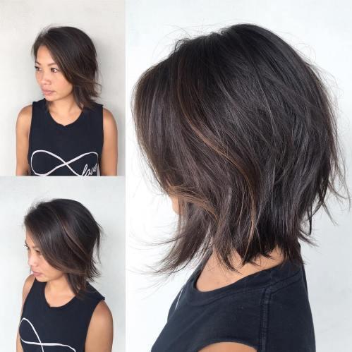 70 coiffures parfaites de longueur moyenne pour les cheveux fins 5e414b54681d5 - 70 coiffures mi longues parfaites pour les cheveux fins