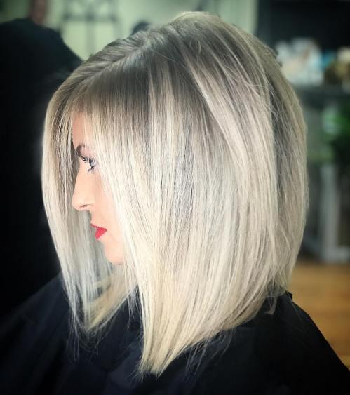 70 coiffures parfaites de longueur moyenne pour les cheveux fins 5e414b54be096 - 70 coiffures mi longues parfaites pour les cheveux fins